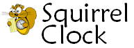 Squirrel Clock - Online Time Clock